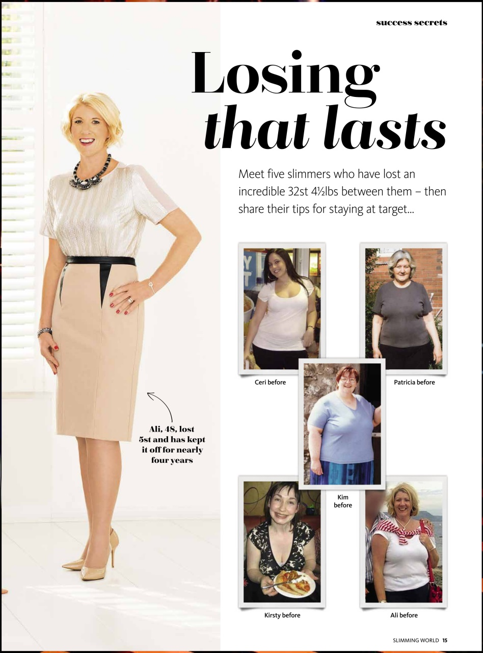 Slimming World Jan Feb 2016