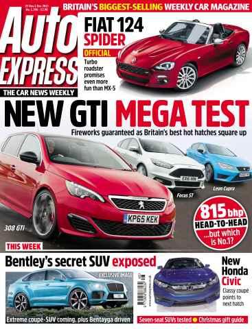 Auto Express issue November 25. 2015