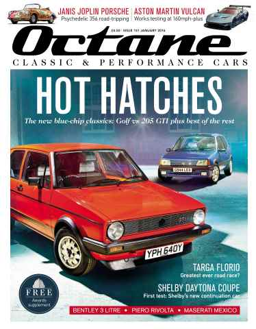 Octane issue January 2016