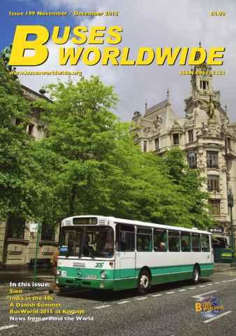 Buses Worldwide issue Issue 199 November / December 2015