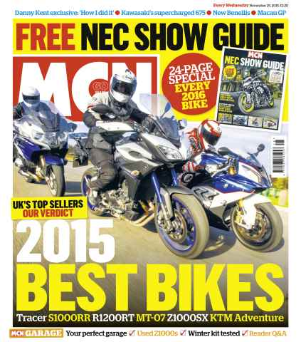 MCN issue 25th November 2015