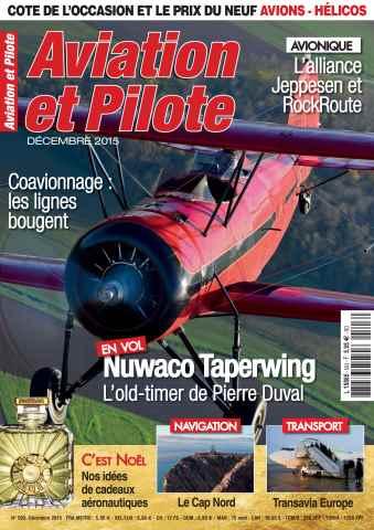 Aviation et Pilote issue December 2015