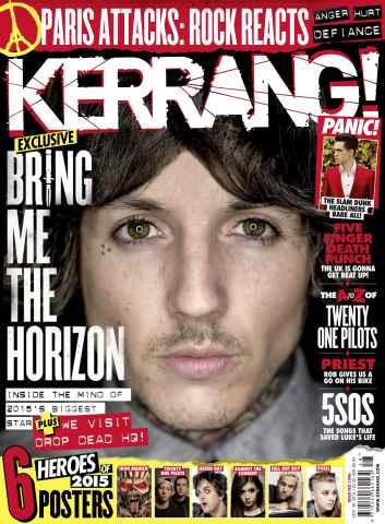 Kerrang issue 25th November 2015