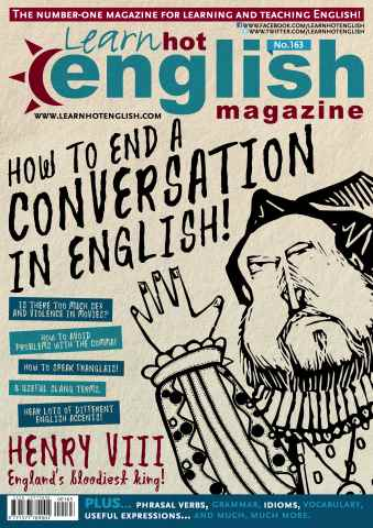 Learn Hot English issue Hot English 163