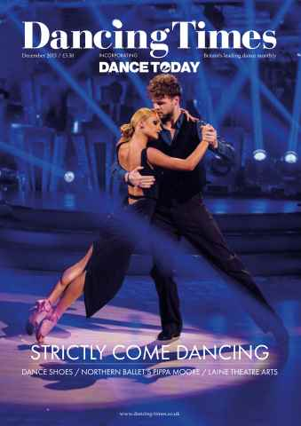 Dancing Times issue December 2015