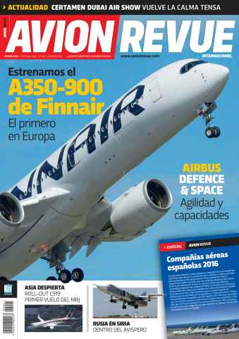 Avion Revue Internacional España issue Número 402