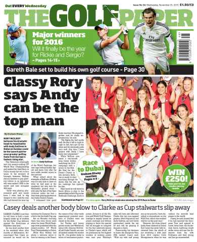 The Golf Paper issue 25th November 2015