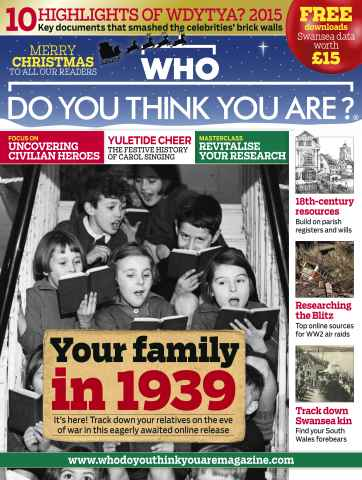 Who Do You Think You Are? issue December 2015