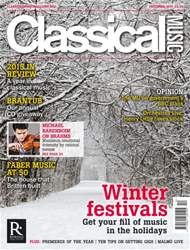 Classical Music issue December 2015