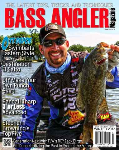 BASS ANGLER MAGAZINE issue Winter 2015