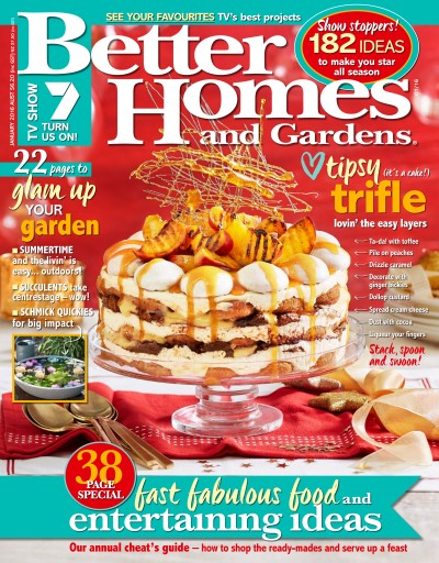 Better Homes and Gardens Australia Magazine January 2016