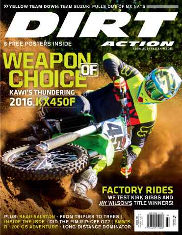 Dirt Action issue Issue#199 Dec 2015