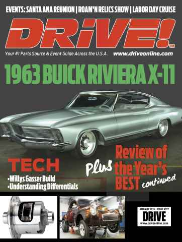 Drive issue January 2016