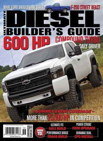 Ultimate Diesel Builders Guide issue December-January 2016
