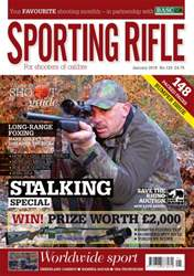 Sporting Rifle issue January 2016