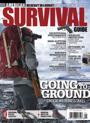 American Survival Guide issue January 2016