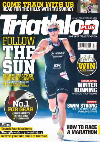 Triathlon Plus issue Follow The Sun
