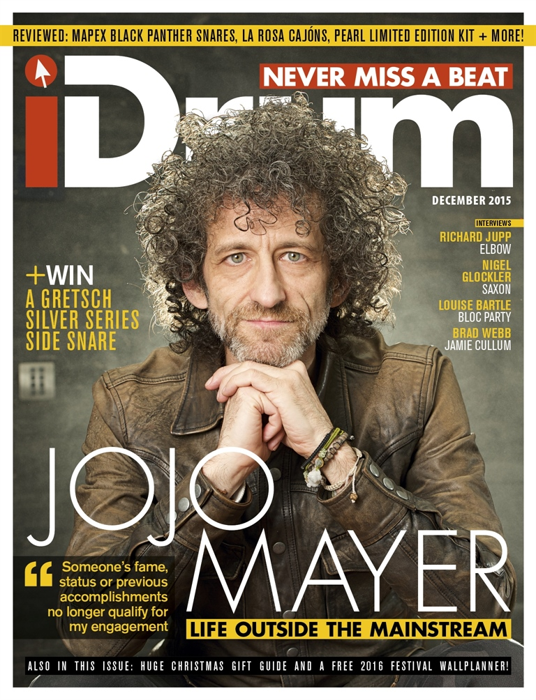 iDrum magazine: Never miss a beat issue December 2015