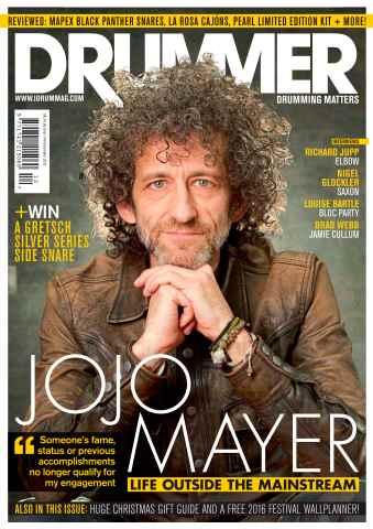iDrum magazine: Never miss a beat issue December 2015