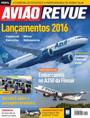 Aviao Revue issue Número 195