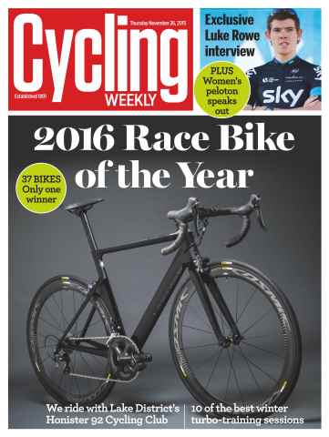 Cycling Weekly issue 26th November 2015