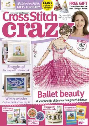 Cross Stitch Crazy issue January 2016