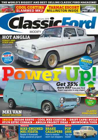 Classic Ford issue No. 233 Power Up!