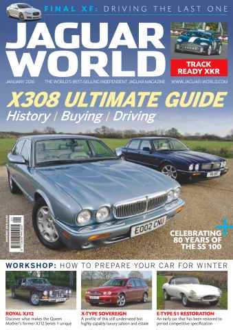 Jaguar World issue No. 166 X308 Ultimate Guide