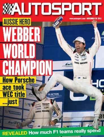 Autosport issue 26th November 2015