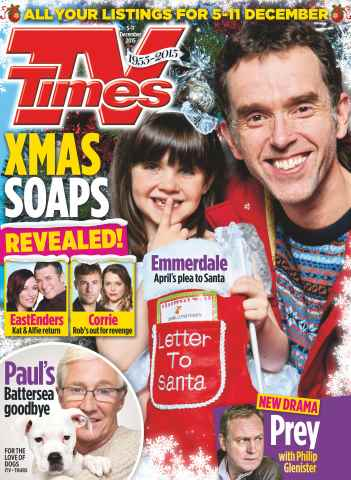 TV Times issue 5th December 2015