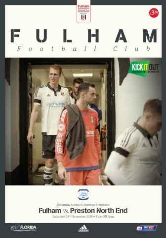 Fulham FC issue Fulham V Preston NE 2015-16