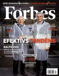 Forbes Novembris '15 issue Forbes Novembris '15