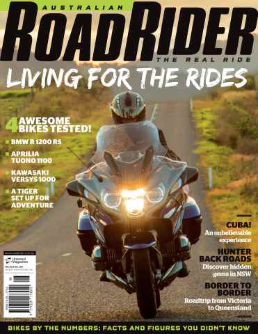 Australian Road Rider issue Issue#120 Dec 2015