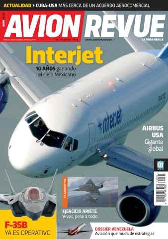 Avion Revue Internacional Latino issue Número 190