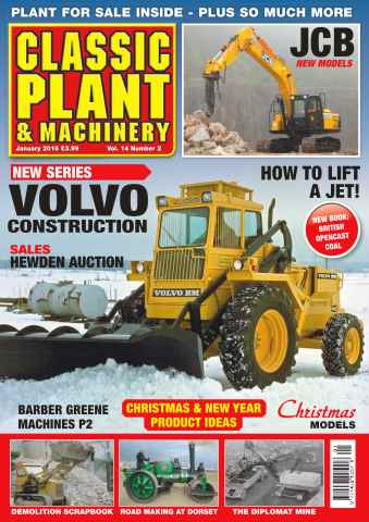 Classic Plant & Machinery issue Vol. 14 No. 2 Volvo Construction