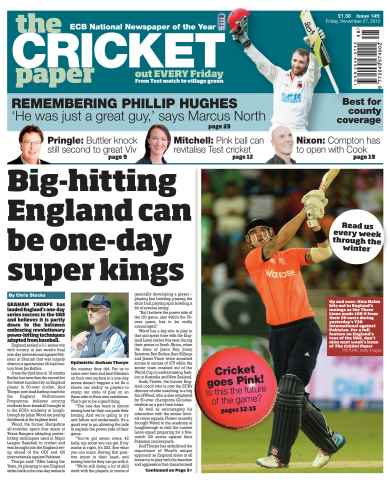 The Cricket Paper issue 27th November 2015