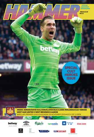 West Ham Utd Official Programmes Preview 1