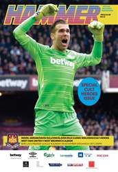 West Ham Utd Official Programmes issue WBA  BPL