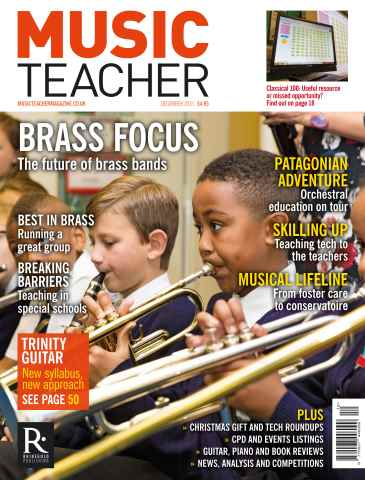 Music Teacher issue December 2015