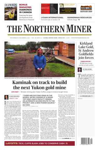 The Northern Miner issue Vol. 101 No. 42