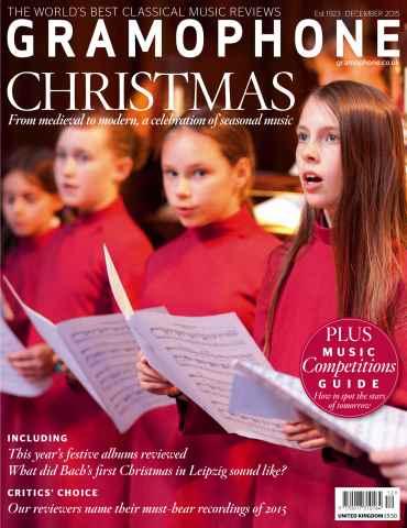 Gramophone issue December 2015