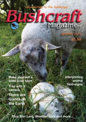 Bushcraft Magazine issue Autumn 2015