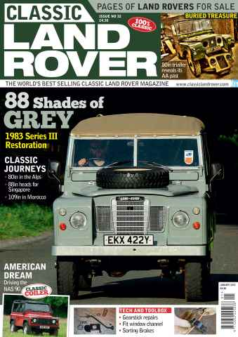 Classic Land Rover Magazine issue January 2015