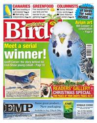 Cage & Aviary Birds issue No. 5883 Meet A Serial Winner