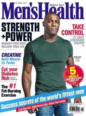 Men's Health Middle East issue December