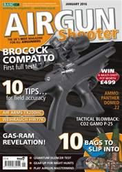 Airgun Shooter issue January 2016