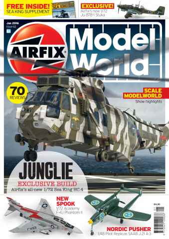 Airfix Model World issue January 2016
