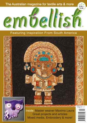 Embellish issue Embellish Magazine issue 24