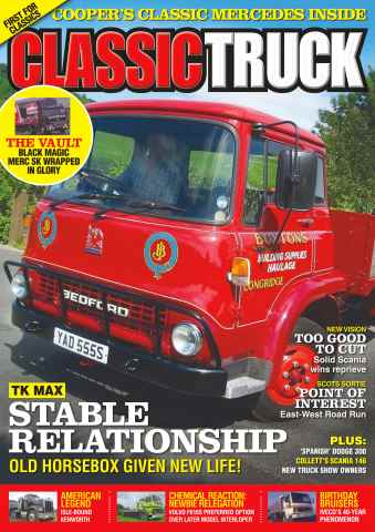 Classic Truck issue No. 21 Stable Relationship