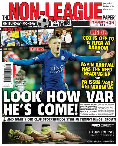 The Non-League Football Paper issue 29th November 2015